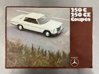 Mercedes 250 C CE Coupe Brochure Information Packet Technical Data Book