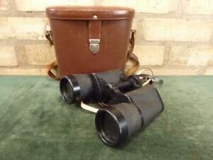 Vintage DDR made Carl Zeiss Jena Jenoptem binoculars 7 X 50W with case