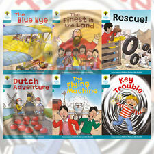 Oxford Reading Tree, Level 9: More Stories A, 6 Books Collection Set (Rescue)