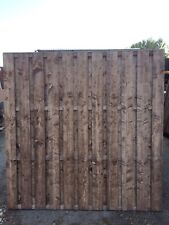 Hit and miss double Sided Fence Panels