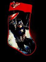 "19"" Captain America Marvel Avengers Christmas Holiday Stocking Brand New 2019"