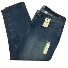 Terra e cielo Donne Plus 24W Mid Rise Controllo della pancia leggero lavaggio jeans Nuovo con etichette