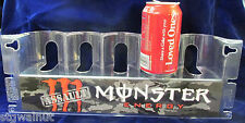 NOS ASSAULT MONSTER ENERGY DRINK RED DISPLAY SIGN