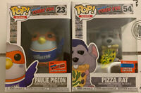 NYCC 2020 Pizza Rat and Pigeon Paulie Funko PoP Limited Edition