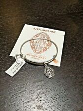 Alex & Ani Bracelet Mother Mary Silver NWT Free Shipping