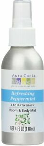Aromatherapy Mist by Aura Cacia, 4 oz Peppermint Harvest