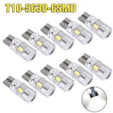 10 X CANBUS ERROR FREE White T10 6SMD 5630 Interior LED Bulbs W5W 194 168