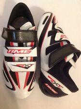 TIME RXE 3-Strap Carbon Fiber Bio-Position road bike cycling shoes Size 40 EU