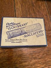 Vintage Isovibrant Maccaferri Fench American Reed EMPTY Box LID ONLY Sax Tenor