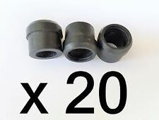Lot 20 PPC WS500 1/2'' F81 Coax Port Seal Rubber Grommet RG6 Cable Weather Boot