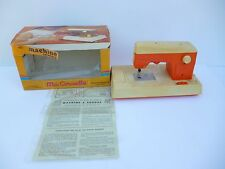 👿 Ancienne Machine à Coudre Pour Enfant Ma Cousette Avec Sa Boîte Fonctionne
