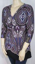 Autograph Polyester V-Neckline Tops & Blouses for Women
