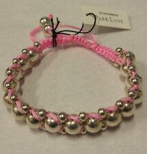 Park Lane Pink Friendship Bracelet Adjustable. A Gift For All Friends.