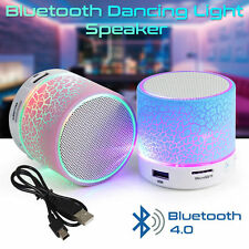 Bluetooth Wireless Mini Portable Speaker Bass for MP3 iPhone Android + LED Light