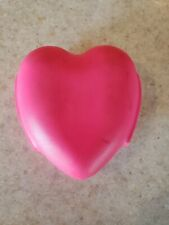 Scuba Weights Ladies Coated Pink Heart Shaped Approx 4 lbs Rare # A 201