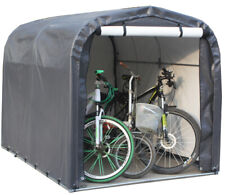 More details for portable large bike moped garden storage shelter shed brand new uk supplier