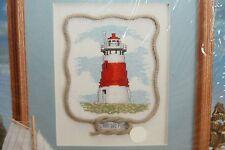 Vintage 1999 Stitches & More Seaside Cape Hatteras Lighthouse Cross Stitch Kit