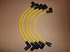 Classic mini yellow spark plug leads - New