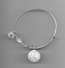 Alex & Ani silver friend charm bracelet