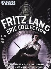 Fritz Lang - Epic Collection (DVD, 2004, 5-Disc Set)