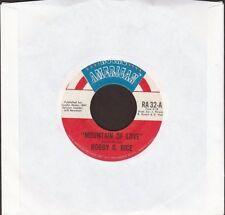"Bobby G Rice - Mountain Of Love / Five O'Clock World - 7"" single 45rpm"