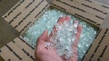 30lbs Paradise1/2inch white crystal fire glass, fire pit, fire place, glass rock