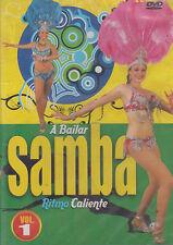 DVD - A Bailar Samba NEW Ritmo Caliente Vol. 1 FAST SHIPPING !