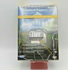 Microsoft Streets and Trips 2007 with GPS Locator (2007, DVD) (NEVER USED)