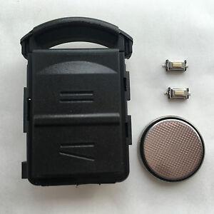 Fits Vauxhall Corsa Opel Merica Tigra 2 Button Remote Key Fob Case  Repair Kit