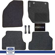 NEW Genuine Ford Focus MK2 2005-2011 Set of 4 Tailored Carpet Car Floor Mat Set