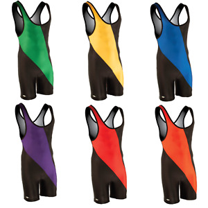 Matman Wrestling   #8538   Chest Sweep Premium Singlet   All Sizes   All Colors