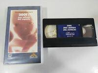 2001 Una Odissea del Spazio VHS Collezzionista STANLEY Kubrick Castellano