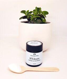 Serum Powder to Gel Formula Hyaluronic and Vitamin B5 6 Bottles Worth Hydrate