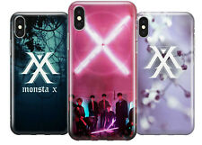 MONSTA X KOREAN BOY BAND TPU PROTECTIVE PHONE COVER CASE FOR APPLE IPHONE