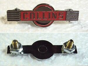 Collins A-line Beautiful Reproduction Winged Emblem !