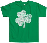Distressed Shamrock Toddler T-Shirt Tee St. Patricks Day Irish Pride Ireland