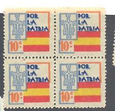 C.R  POR LA PATRIA 10 CTMS ( ASTURIAS) BLOQUE DE 4