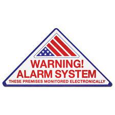 "ELK99805 - ELK ""WARNING ALARM SYSTEM"" DECALS ***NEW***"