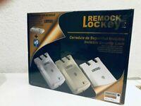 Remock Lockey Pro, cerradura de seguridad invisible + 4 mandos control remoto RF