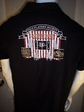 Van Santen & Van Santen Black Heavy Cotton Shirt Polo Players Society
