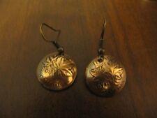 ORIGINAL HANDMADE CANADIAN 1 CENT COPPER COIN EARRINGS