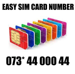 GOLD EASY VIP MEMORABLE MOBILE PHONE NUMBER DIAMOND PLATINUM SIMCARD 4400044