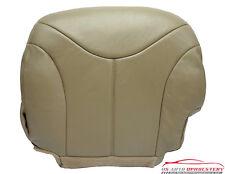 2001 GMC Sierra 1500 HD 2500 HD 3500 SLT Driver Bottom LEATHER Seat Cover TAN