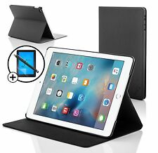 Black Clam Shell Smart Case Cover for Apple iPad Pro 9.7 Screen Prot & Stylus