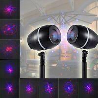 Star Laser Projector Shower Light LED-Motion Landscape Lamp Waterproof Christmas