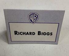 Babylon 5 Richard Biggs Warner Bros Paper Table Tent