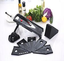 Kitchen Vegetable Mandoline Slicer Food V-Blade Cutter Stainless Steel Grater