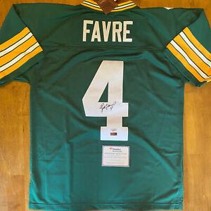 Brett Favre Signed Autographed Packers Mitchell & Ness Jersey Fanatics COA