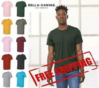 Bella + Canvas Unisex Blank Triblend Short Sleeve Tee T Shirt Top 3413 up to 3XL