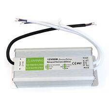 LED Driver Power Supply Transformer AC230 - DC12V 80W Waterproof IP67 Driver